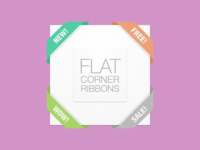 Weekly Pixels Freebie Flat Corners sketch freebie