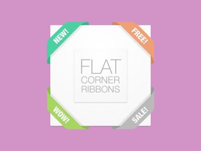 Weekly Pixels Freebie Flat Corners