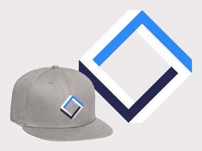 Square paradox cap hat otto snapback