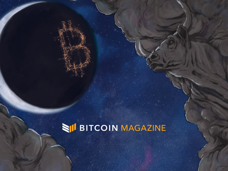 Bitcoin Magazine – Website Banner Illustration design bitcoin magazine blockchain crypto illustration bitcoin