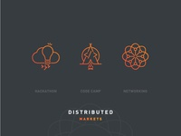 Distributed Markets 2018 – Icon Set
