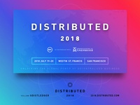 Distributed 2018 – San Francisco