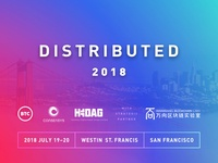 Distributed 2018 – San Francisco – Blockchain Conference