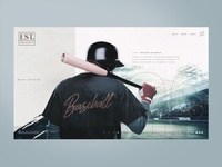 Concept website BASEBALL DIAMOND©