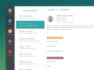 Web App Initial Design