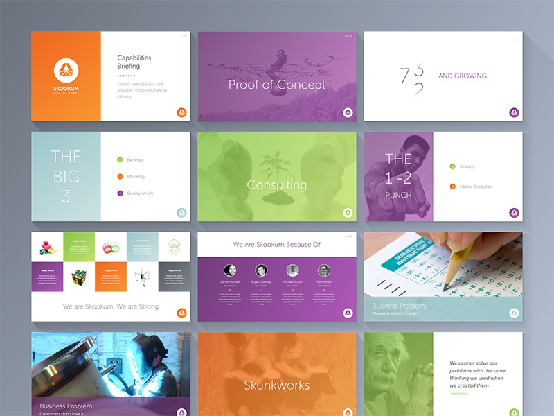 Keynote Deck By Rob Luke  Dribbble