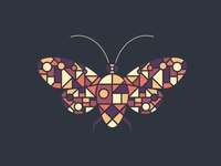 A Stained Glass Moth