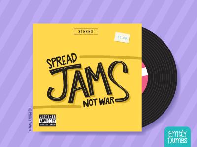 Spread Jams Not War