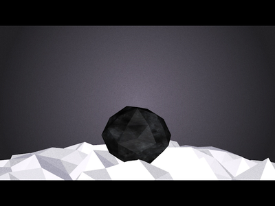 Facets: Build exhibition installation art new media motion graphics facets crystal geometric touchdesigner generative art animation
