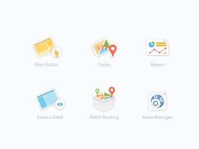 Web Apps Icon Set (Cheetah) cheetah application ui ui design flat user interface product design graphic design color icon app visual design