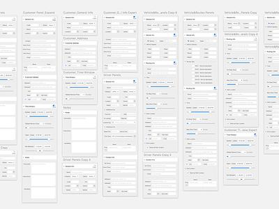 Utility Panels visual design app color graphic design product design user interface flat ui design ux ui application cheetah