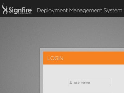 Signfire Deployment Management System