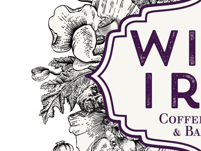 Wild Iris Coffeehouse Logo