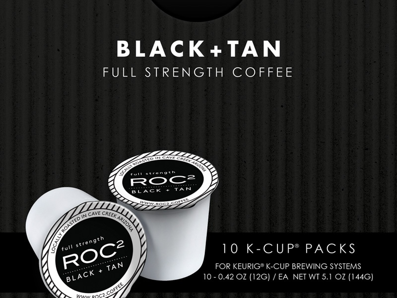Roastery of Cave Creek K-Cup Packaging mousse creative roastery of cave creek coffee design packaging