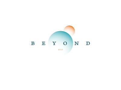 Beyond typography logoconcept logo