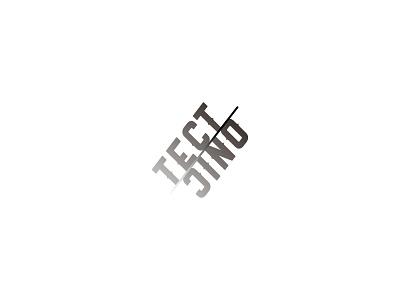 Tectonic typography logoconcept logo