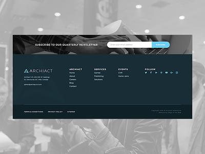 Footer design design responsive ux ui web design interface footer