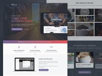 Gospaces - Frontpage adjustments