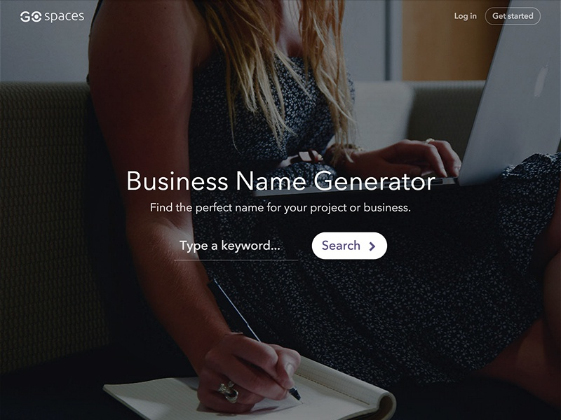 Spaces Business Name Generator by Kasper Christensen on Dribbble