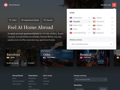 Nomad Rental - Feel At Home Abroad