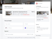 Nomad rental booking request