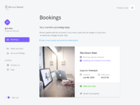 Nomad rental booking view