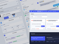 Chatbot UI Kit 🤖 - Freebie .xd wizard kit ui ux freebie free forms dashboard chat gui backend admin