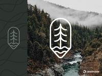 Tree + Water Badge
