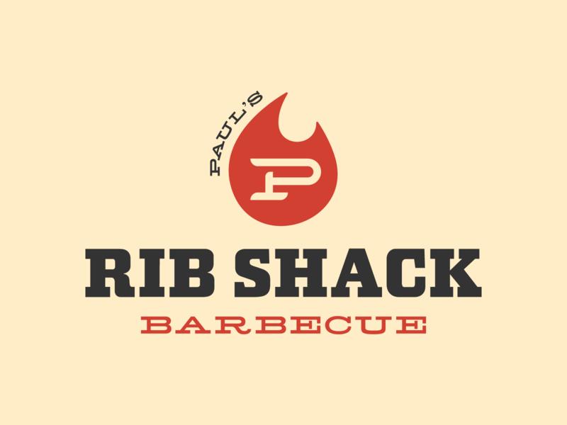 Paul S Rib Shack Barbecue By Destin Williams Dribbble