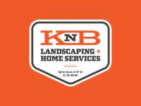 KnB Landscaping Logo Design