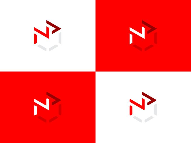 Dimensional N+P Concept icon logomark simple exploration brand identity geometric logo flat logo flat design logo concept branding concept monogram p logo n logo minimal logo logo design geometric dimensional np monogram np