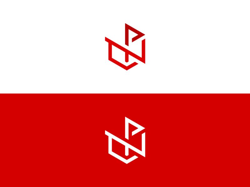 N+P Cube | Work in Progress flat design minimal logomark simple modern dimensional logo dimension flat logo isometric logo branding logo deign 3d cube logo geometric dimensional