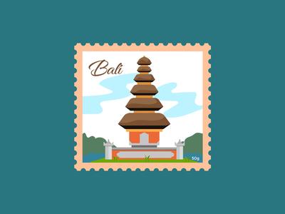 Bali Stamp
