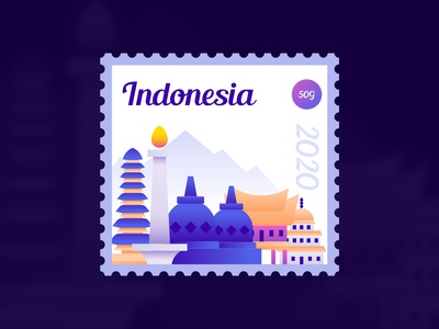 Indonesia Stamp