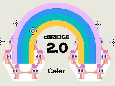 Celer Cbridge 2.0 finance layer2 crypto figma illustration celer
