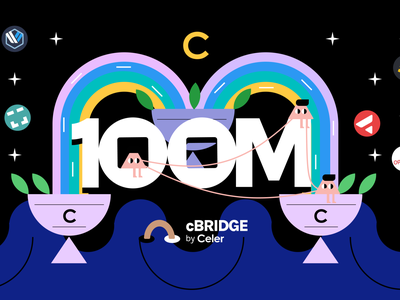 Celer Cbridge 100M Volumn finance celer layer2 figma crypto illustration