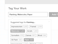 Tagging Wireframe