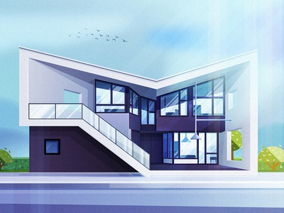 NO16-Futuristic family house