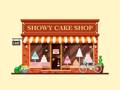 showy cake shop
