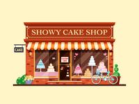 showy cake shop