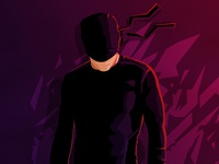 Daredevil: The Ninja Suit (Wallpaper)