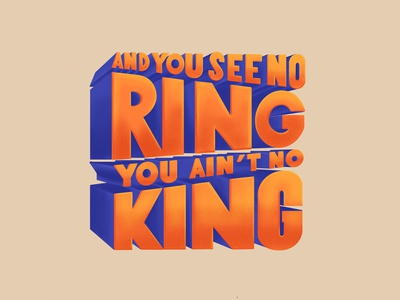 No Ring, No King