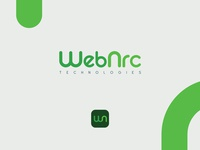 Logo and icon app for web development business web development branding app green app logo logo mark custom font logotype logo design icon app technologies logo