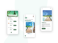 Travel Mobile App - GotoApp booking app travel travel app illustration interaction animation after effects mobile ui mobile ui app animation