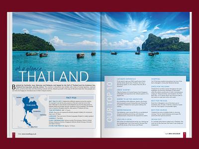 Travel Brochure DPS Concept wip travel simplicity print magazine identity dps content concept brochure branding