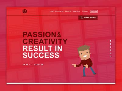 NEW Portfolio Landing Page WIP wip website ui simplicity portfolio marketing interface identity digital clients branding advertising
