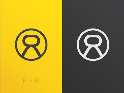 Flytright Branding Mock-Up wip sport monogram logo identity gym fitness digital concept clean branding athletics