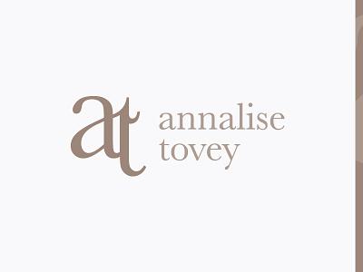 Annalise Tovey Branding wip rebrand monogram logo brandmark identity clean elegant fashion branding brand