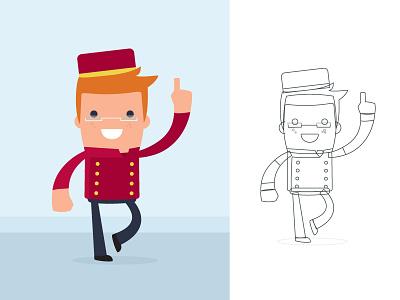 Mr T. Concept Character digital art concept doodle sketch illustration identity iconic cartoon branding
