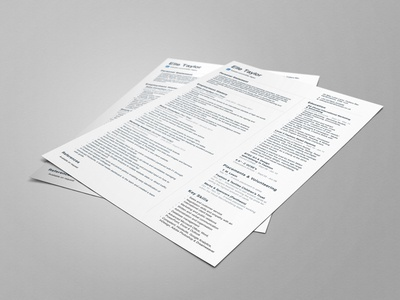 CV Design advertising marketing template simple clean icons resume layout format print grid cv